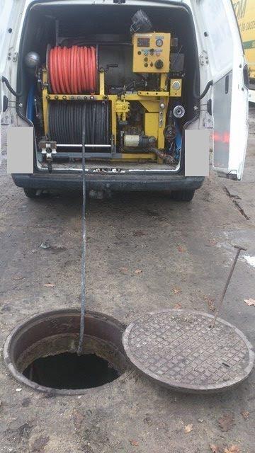 Małe WUKO - czyszczenie kanalizacji