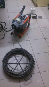 sprzęt do czyszczenia kanalizacji